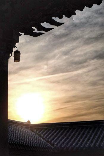 불국사 Gyeongju Bulguksa Sunset