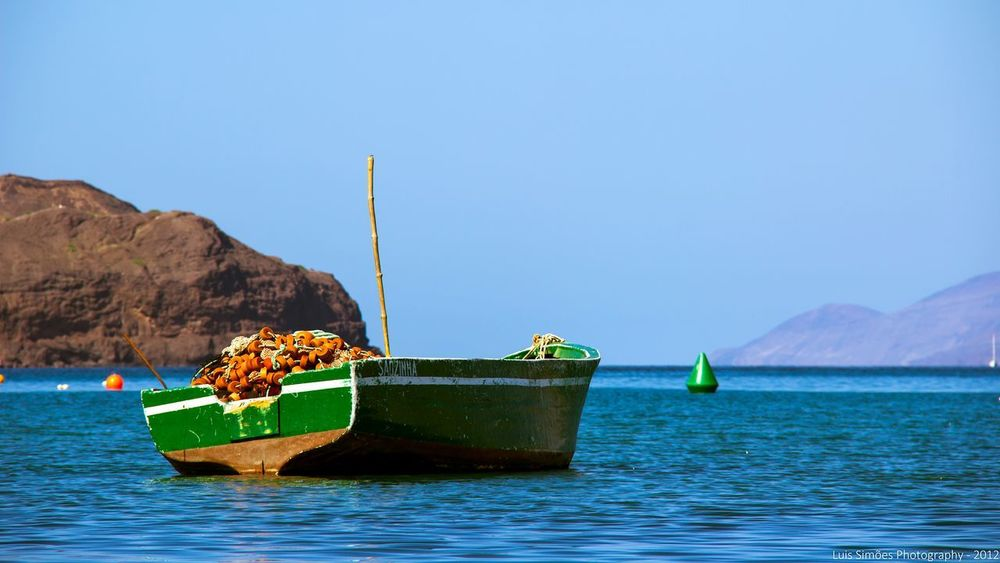 Fishing boat in Cape Verde. Fishing Boat Fishing Cape Verde Saovicente Hd Photo Fisherman Sea