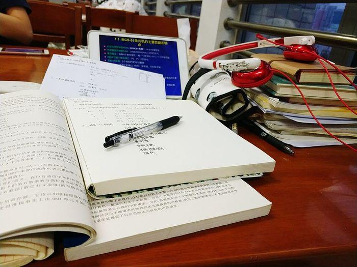 图书馆是我家系列之期末复习的痛