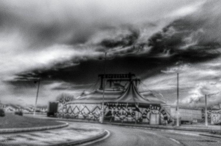 Circus Blackandwhite Açores - Portugal Blackandwhite Photography Defocus