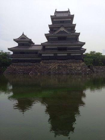 松本城 Japanese Castle Matsumoto Castle Moat お堀