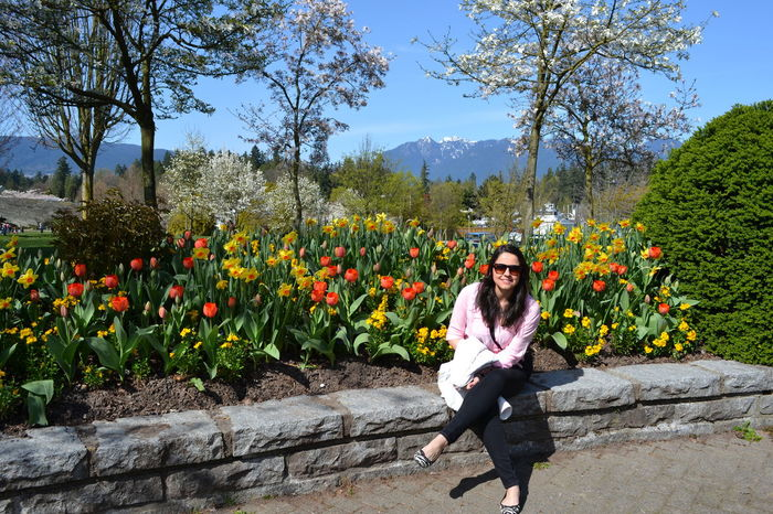 Clear Sky Flowers, Nature And Beauty Nature Nikon D3100 Stanley Park Summer ☀ Vancouver BC Young Women