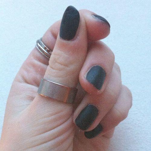 Love Nails Blackandwhite Followme