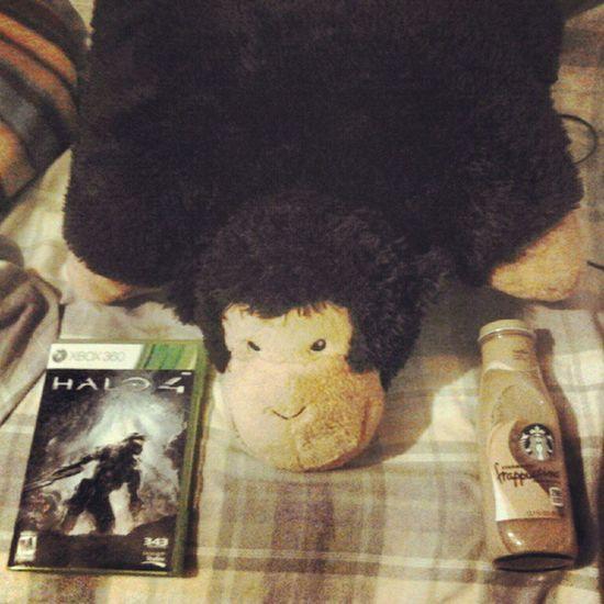 My nights agenda. Halo4 Starbucks Delilah Instagood instamood pictureoftheday