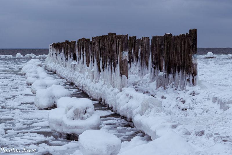 Poland Is Beautiful Poland Gdynia Torpedownia Sea Wintertime Winter EyeEmNewHere