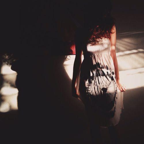 Warm caress IPhoneography Shootermag Selfportrait The New Self-Portrait Vscocam NEM Self Woman Light