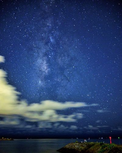 Beauty In Nature OKINAWA, JAPAN Okinawa Nikon Nikon D600 D600 Night Lights Photos Eyeem Photography Eyeemphotography Taking Photos Happy Hour Skylovers Galaxy Night The Week On EyeEm