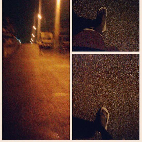 Walking in the neighbourhood on a cold rainy night...... Ghana360 Instakumasi Rains Coldwind