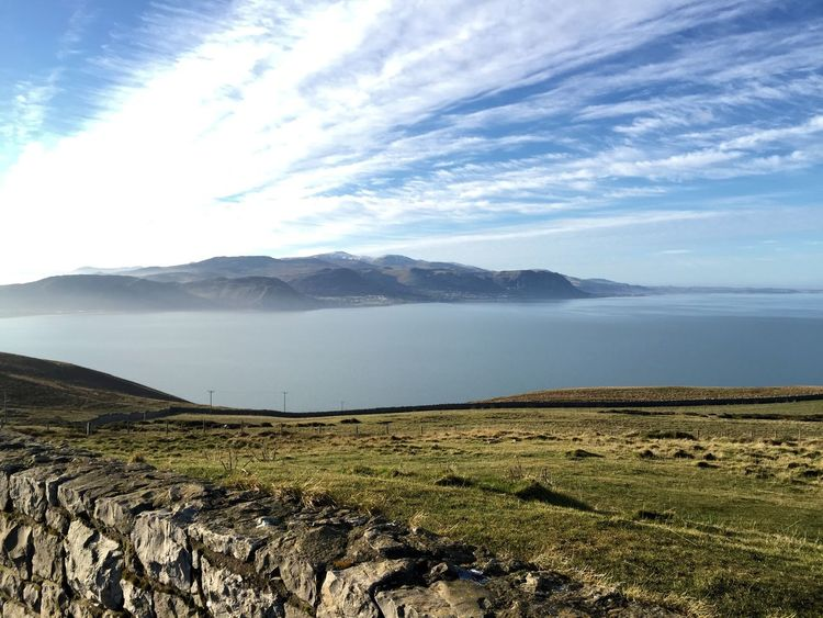 Landscape Mountain Scenics Sky Nature Cloud - Sky Water Outdoors Lake Growth Beauty In Nature Rural Scene Freshness Agriculture Day No People Tree EyeEmNewHere Llandudno Llandudno Snowdonia North Wales Great Orme