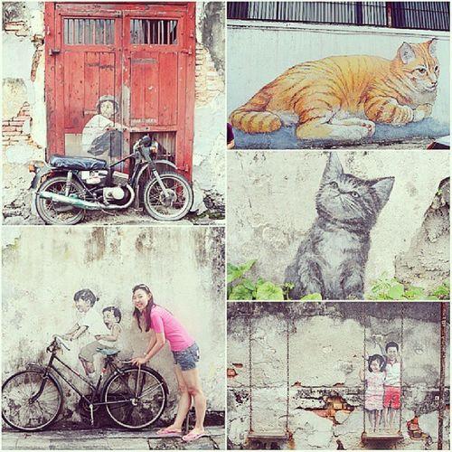 Streetart at Georgetown Penang