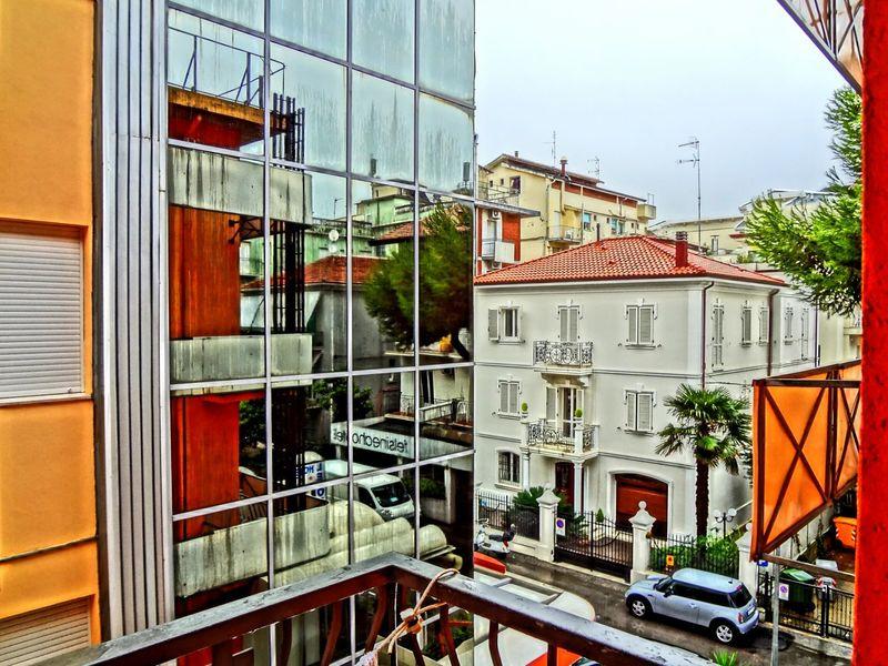 Rainy Day in Rimini Hdrphotography Reflection Citystreet StreetphotographyThe Week On EyeEm Windows