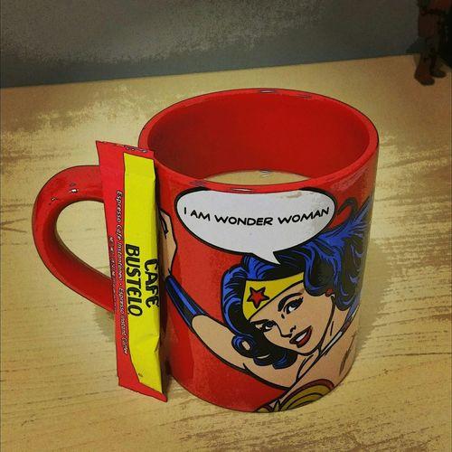 October 2-Coffee 5ffphoto Coffee Wonderwoman Geek Cafe Bustelo