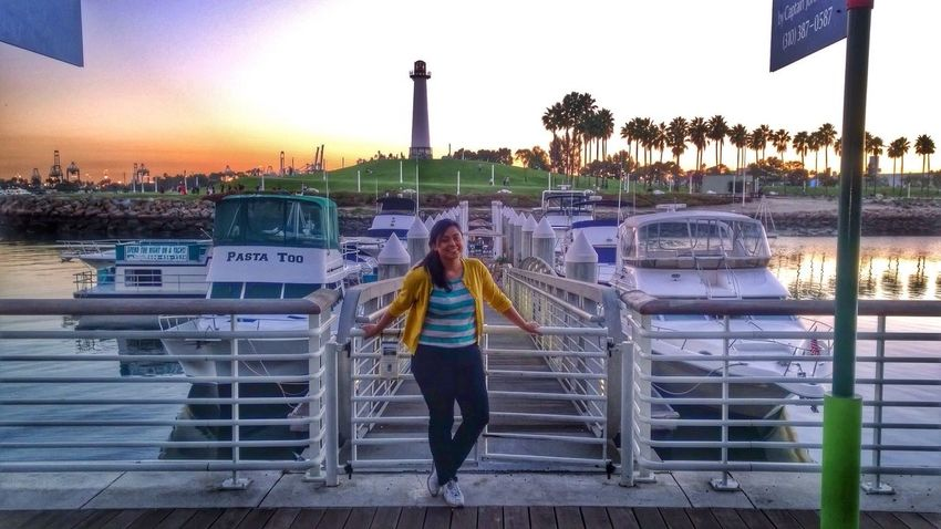 As a picture. Long Beach, California USA  Harbour Marina Candid