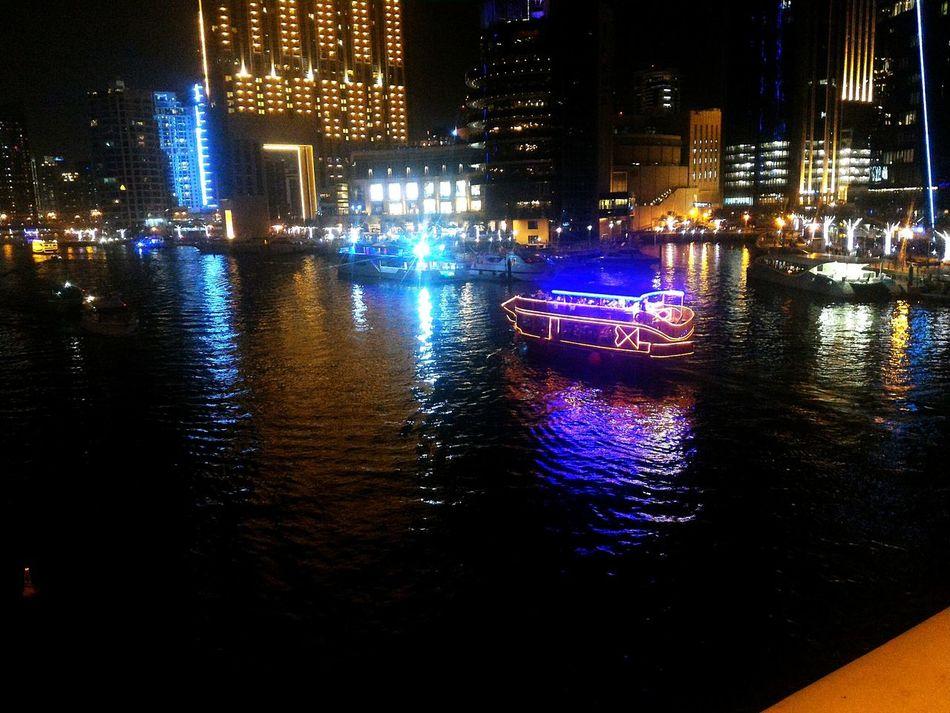 Boat Ride Night Lights Check This Out Nigthlight Nightphoto