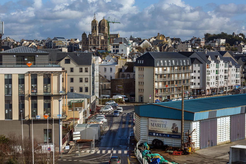 France Normandie Architecture Building Exterior Built Structure City Cityscape Cloud - Sky Day No People Outdoors Residential Building Sky Water