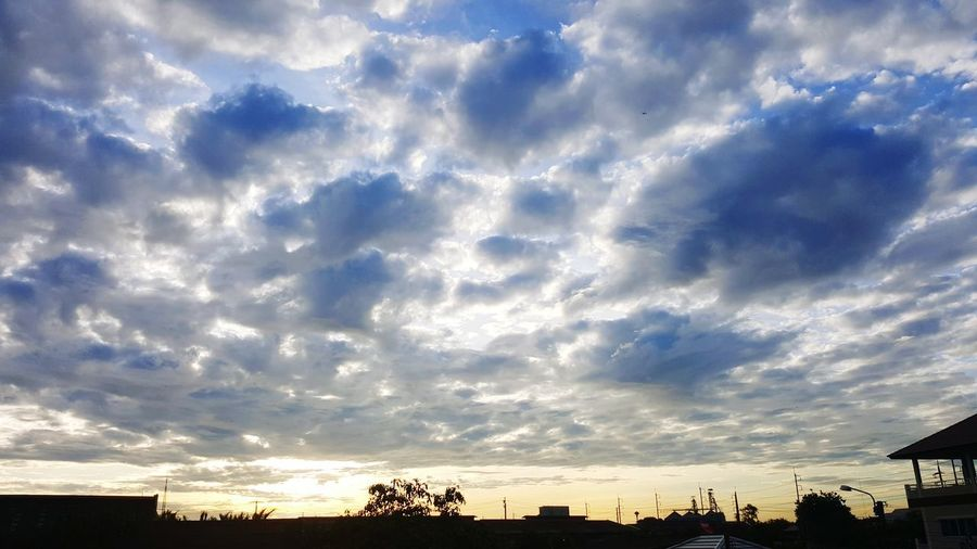 One day Morning. Cloud - Sky Sky Scenics Multi Colored Nature Silhouette Outdoors Beauty In Nature Urban Skyline Skyscraper Modern High Angle View InTheMorning Sunrise_Collection Cloudscape Cloud_collection  Cloudlovers Cloudscapes Sunset Sunrise Silhouette No People Day Cumulus Cloud