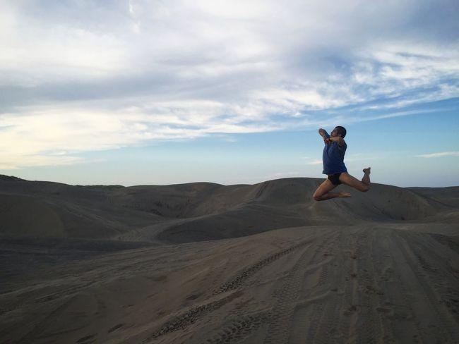 En las dunas. Chachalacas Veracruz PhotoChac Mexico ChacJumps First Eyeem Photo Jumpstagram Jumpshot Jump Re