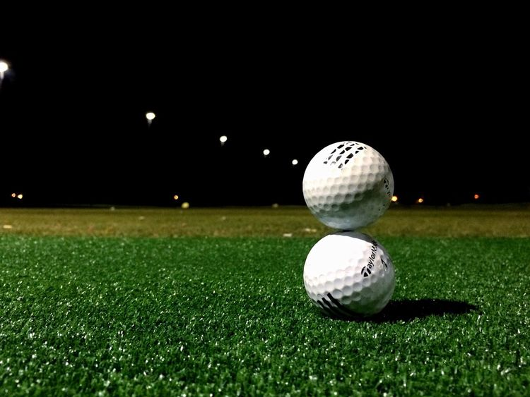 A night at the range Golf Golfing