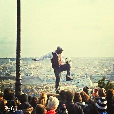 Crazy Man In Paris