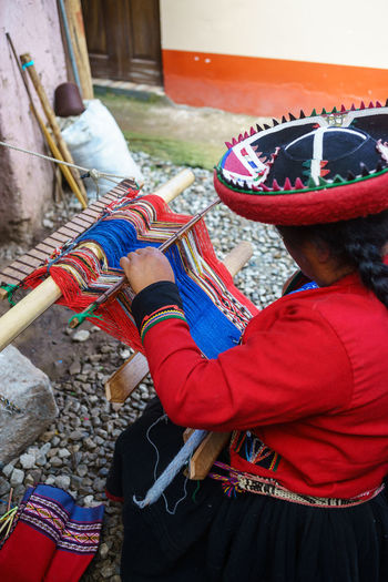 Anden Art Chinchero Culture Cusco History Inca Landscape Old People Peru Pisac Ruins Sacred Valley South America Traveling