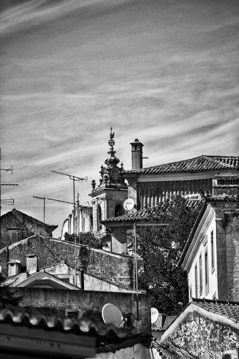 Constância- Black and White Constância,Potugal Black And White City Cityscape Politics And Government Sky Architecture Building Exterior Built Structure