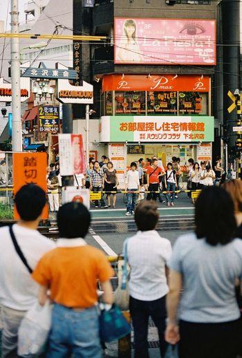 Walk This Way 35mm Film Kodak Portra Film Tokyo Streetphotography Crosswalk