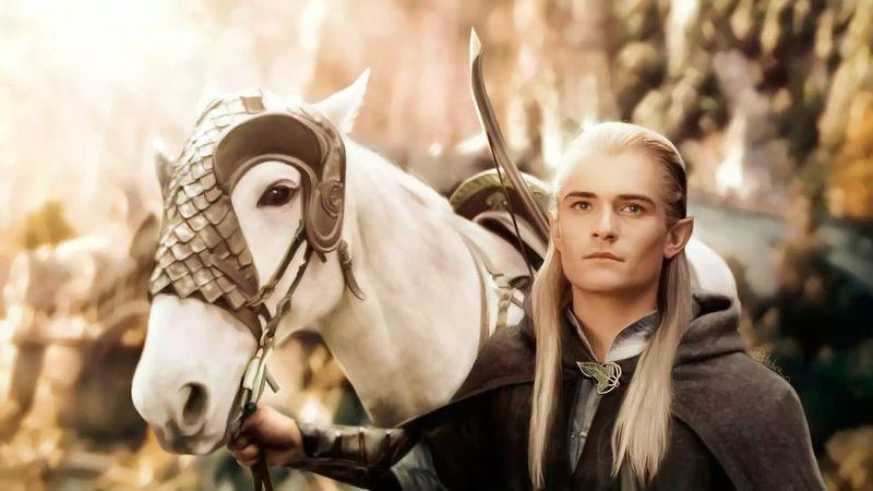 Legolas Legolasgreenleaf Horse Horse Riding