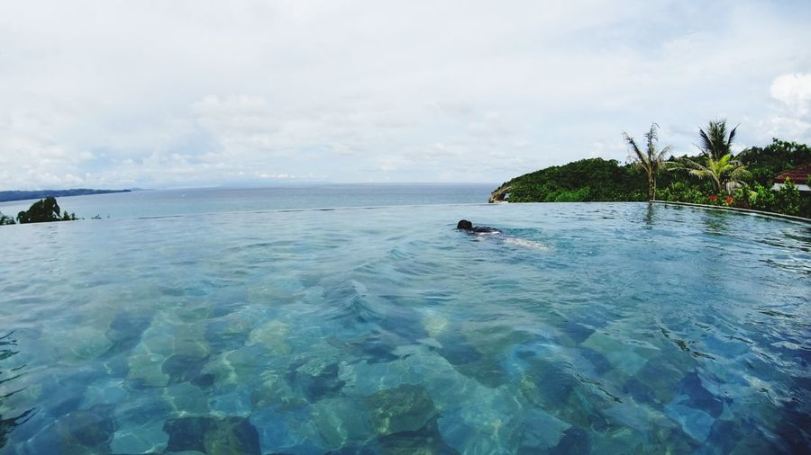 Water Sea Horizon Over Water Vacations Beach Resort Fairwaysandbluewater