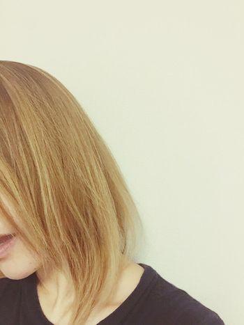 再び金髪.+*:゚+。.☆ ハイトーン グラデーションカラー 金髪