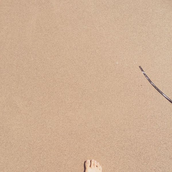 Standing Simplicity Seascape Walking On The Sand Personal Perspective In The Sand Nature Greece