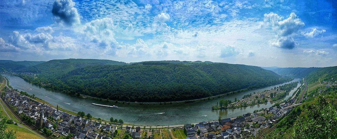 Mosel River River View Riverside Panoramashot Panorama Panoramas Grateviews Awsome Awsomenature