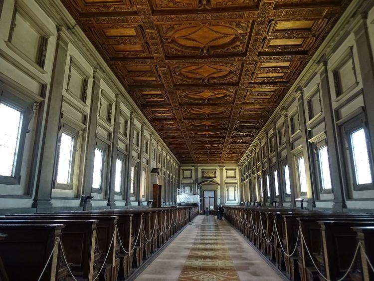 Design Designedbymichaelangelo Florence Italy History Indoors  Laurentianlibrary Library Michaelangelo