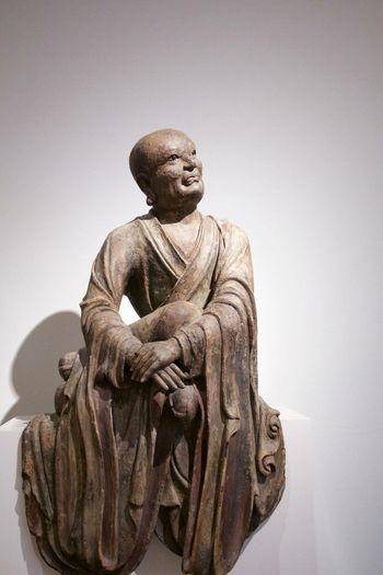 Portrait Amsterdam Statue Monk  Philosopher Single Object Museum Statues