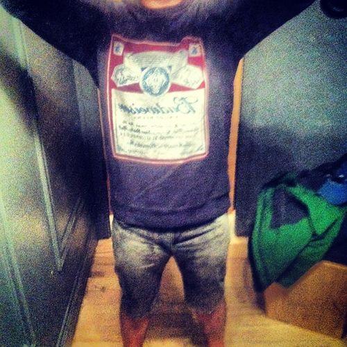 Cutoff Levis Budweiser sweatshirt