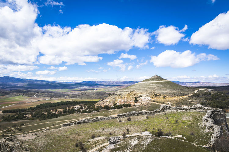 Guadalajara Sigüenza Spain♥ Beauty In Nature Cloud - Sky Day Environment Idyllic Land Landscape Mountain Mountain Range Nature No People Non-urban Scene Outdoors Plant Remote Scenics - Nature Sky Spain ✈️🇪🇸 Tranquil Scene Tranquility Travel