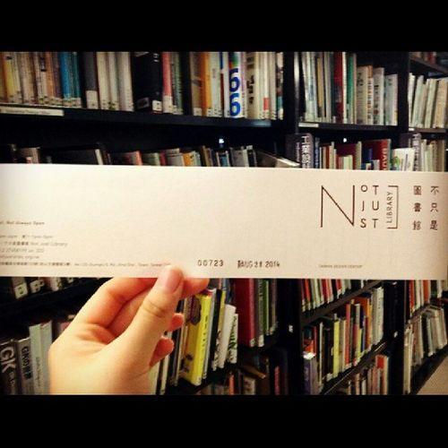 - Notjustlibrary 不只是圖書館