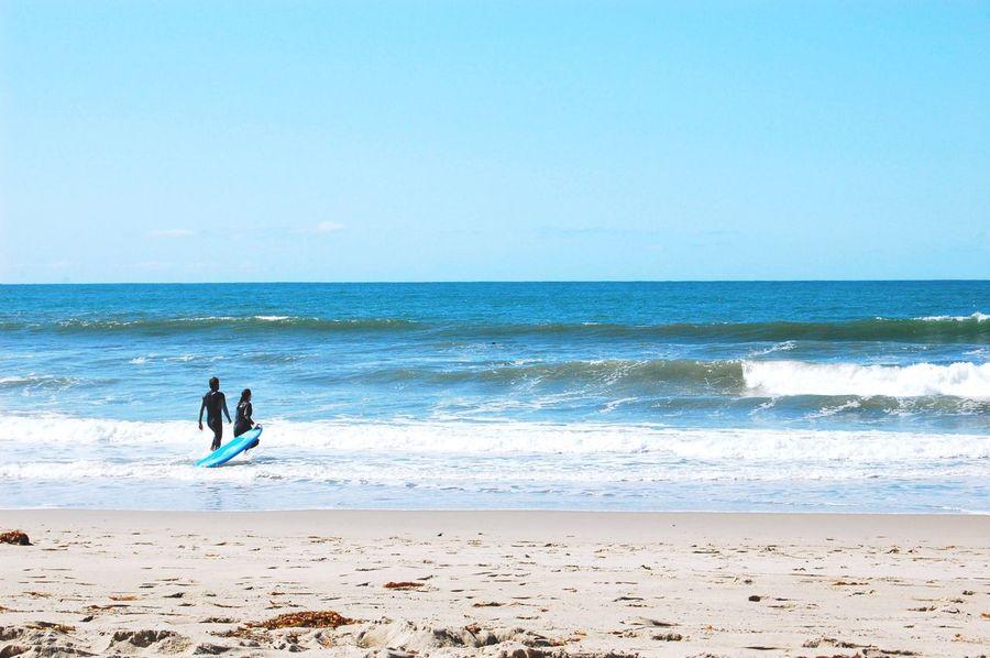 Santamonica Santamonicabeach Skylovers Blue Sky Sea And Sky Surf Taking Photos Taking Photos Trip Landscape