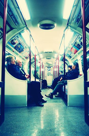 Underground Life in London Traveling Home For The Holidays