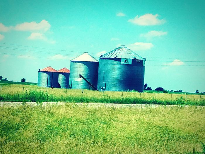 Taking Photos Driving Country Road Countryside Country Life Silo Silos