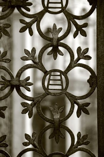 Scaligeri Art And Craft Backgrounds Close-up Craft Creativity Day Decoration Design Floral Pattern Focus On Foreground Full Frame Human Representation Indoors  Luxury Metal No People Ornate Pattern Repetition Representation Shape Wall - Building Feature Wrought Iron