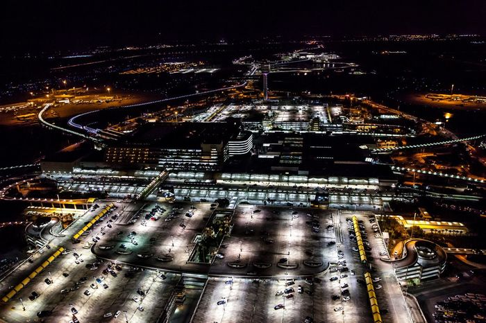 Orlando International Airport Night Illuminated Aerial View Transportation Airport Architecture Building Exterior Outdoors City Life Built Structure Growth Aviation Aviationphotography Aviationlovers Orlando International Airport Orlando Orlando Florida Aerial Photography Helicopter Helicopter View  Nightphotography No People City Florida Travel