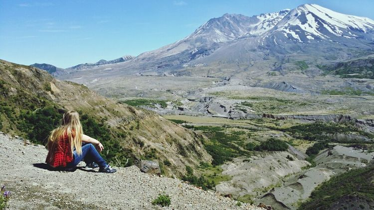 Mt. St. Helens  Washington State Mountain View Volcano Most Popular
