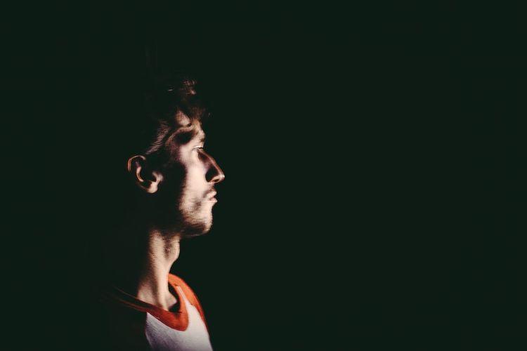 Zac Color Portrait New York City Ballet Man Close-up Beauty Adonis Profile Face