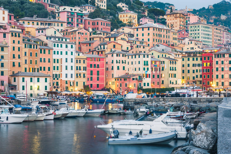 Camogli Camogli Architecture Building Exterior Built Structure City Colorful Harbor Liguria Long Exposure Moored Nautical Vessel No People Outdoors Sea Town Water Waterfront The Week On EyeEm EyeEm Best Shots EyeEm Selects Italy 🇮🇹 Adventures In The City