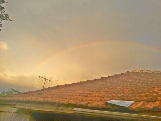 Alguns dias atras. ♡Perfect Day Beautiful Suset Rainbow