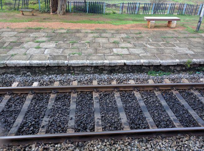 Morning Light Platform Platform Of Train Station Railway Station Railway Station Platform Railway Track Railways Railwaystation Track