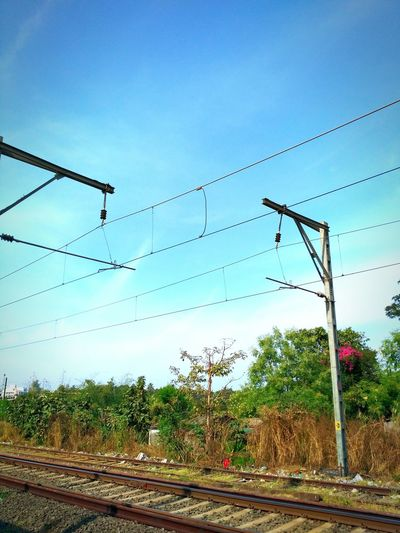Rails Railway Track No People Outdoors Day Sky Tree Nature Travel Travel Diaries