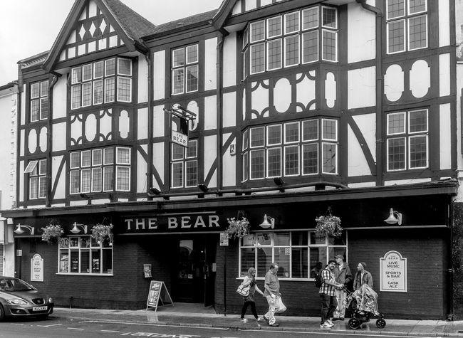 The Bear, Sheep Street, Northampton Black And White Northampton Pubs Northampton Architecture