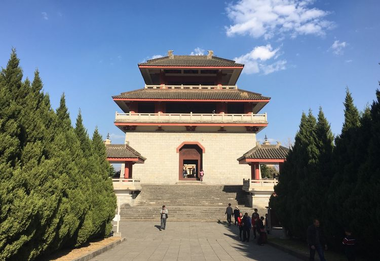 Showcase: February IPhoneography Travel Destinations Tree Outdoors China Beauty Ancient Culture Building Exterior IPhone 6s Yunnan ,China