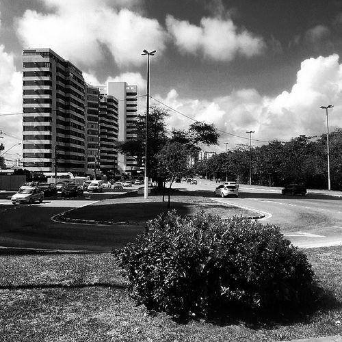 Contorno da Avenida Beira -mar Aracaju Sergipe